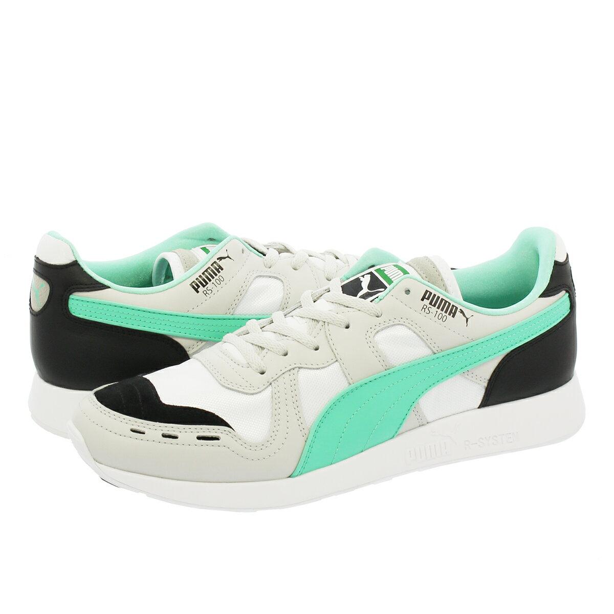 メンズ靴, スニーカー PUMA RS-100 RE-INVENTION RS-0 PUMA BLACKGRAY VIOLETPUMA WHITE 367913-01