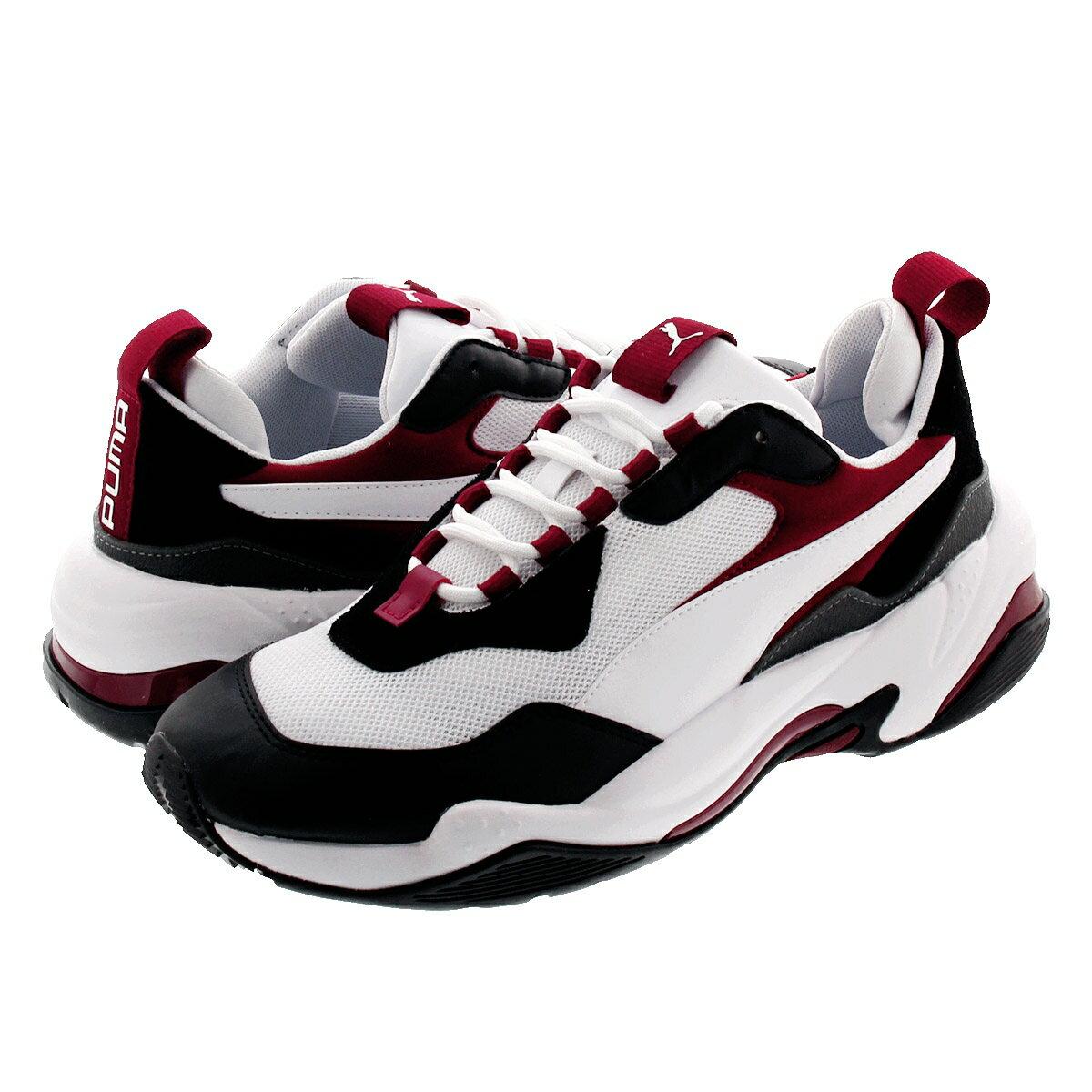 メンズ靴, スニーカー PUMA THUNDER FASHION 2.0 2.0 WHITEBLACKRHUBAR 370376-06