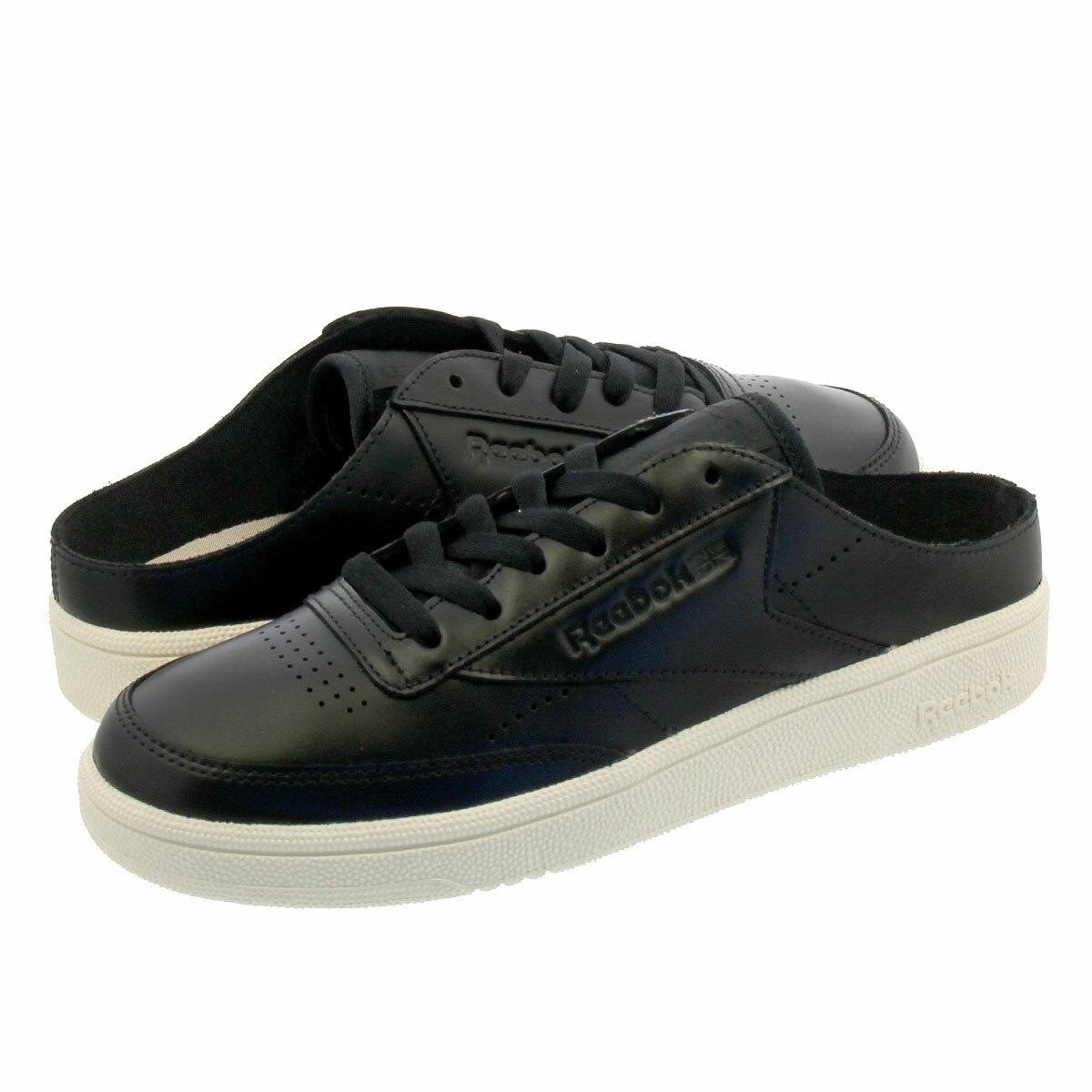 レディース靴, スニーカー  Reebok CLUB C 85 MULE C 85 BLACKCHALKPEBBLE cn7805