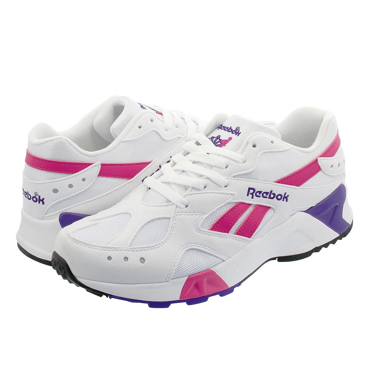 メンズ靴, スニーカー  Reebok AZTREK OG WHITEBRIGHT ROSECOBALTPURPLE cn7841