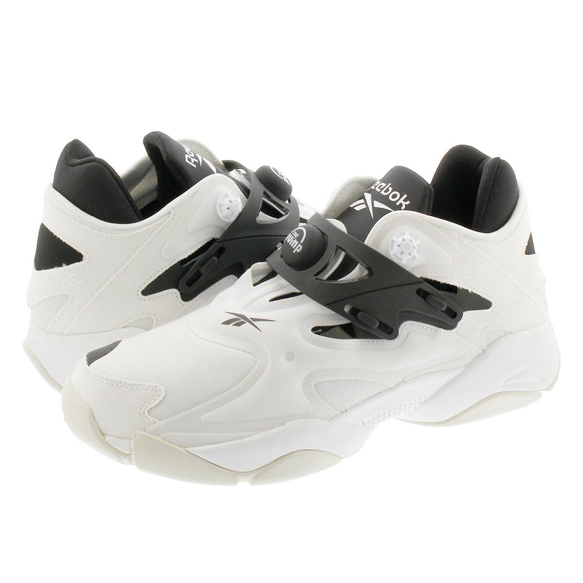 メンズ靴, スニーカー Reebok PUMP COURT WHITEBLACKTRUE GREY fw7817