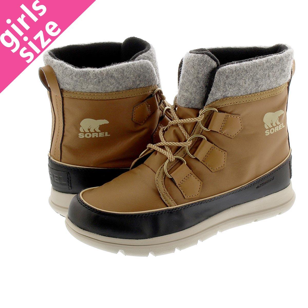 レディース靴, スノーシューズ SOREL EXPLORER CARNIVAL ELK nl3421-286