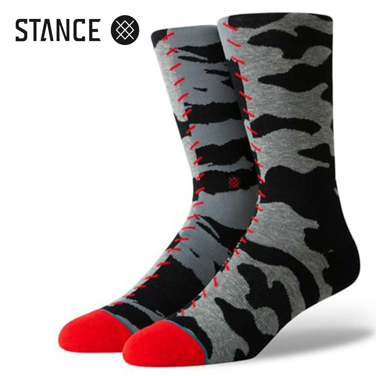 ユニセックス, 靴下・レッグウェア STANCE SOCKS HARD WAY GREY m545a19har