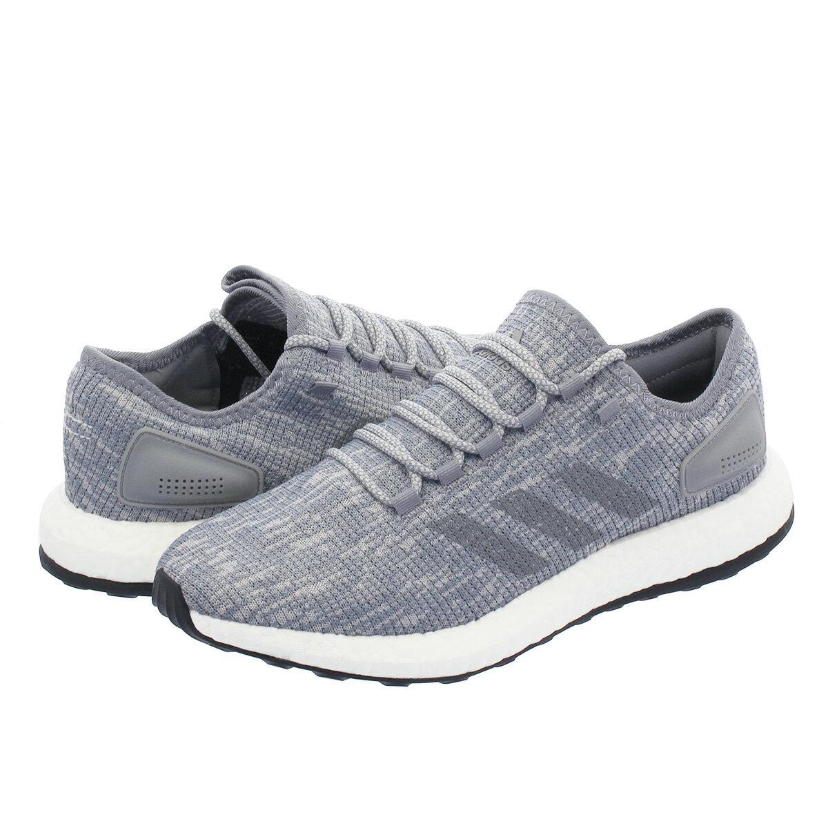レディース靴, スニーカー  adidas PureBOOST GREY THREEGREY TWO bb6278