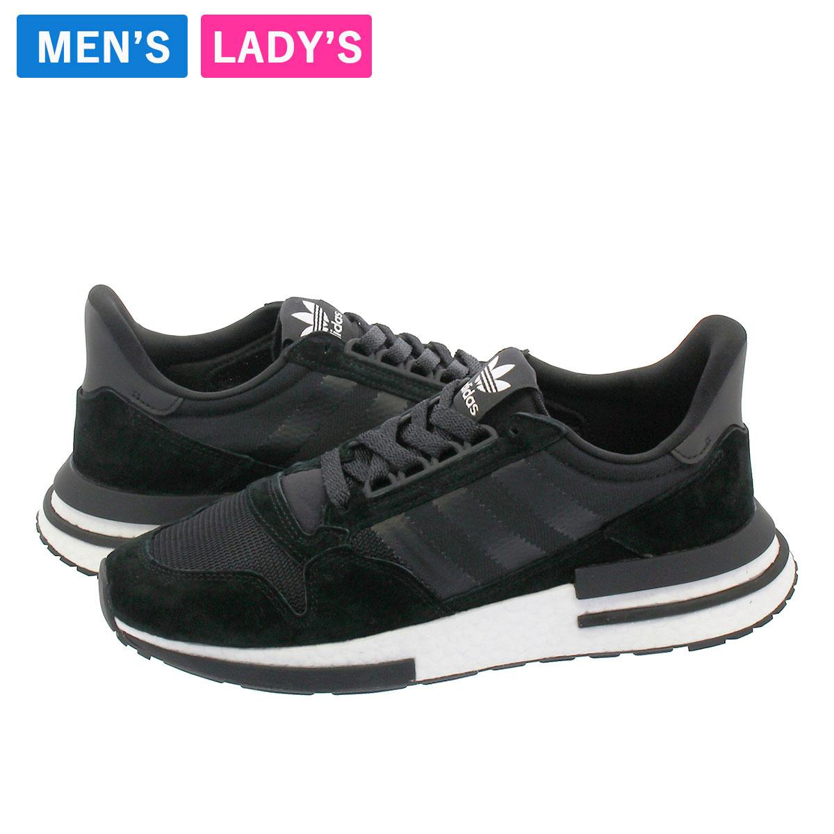 メンズ靴, スニーカー adidas ZX 500 RM adidas Originals ZX 500 RM CORE BLACKRUNNING WHITE b42227