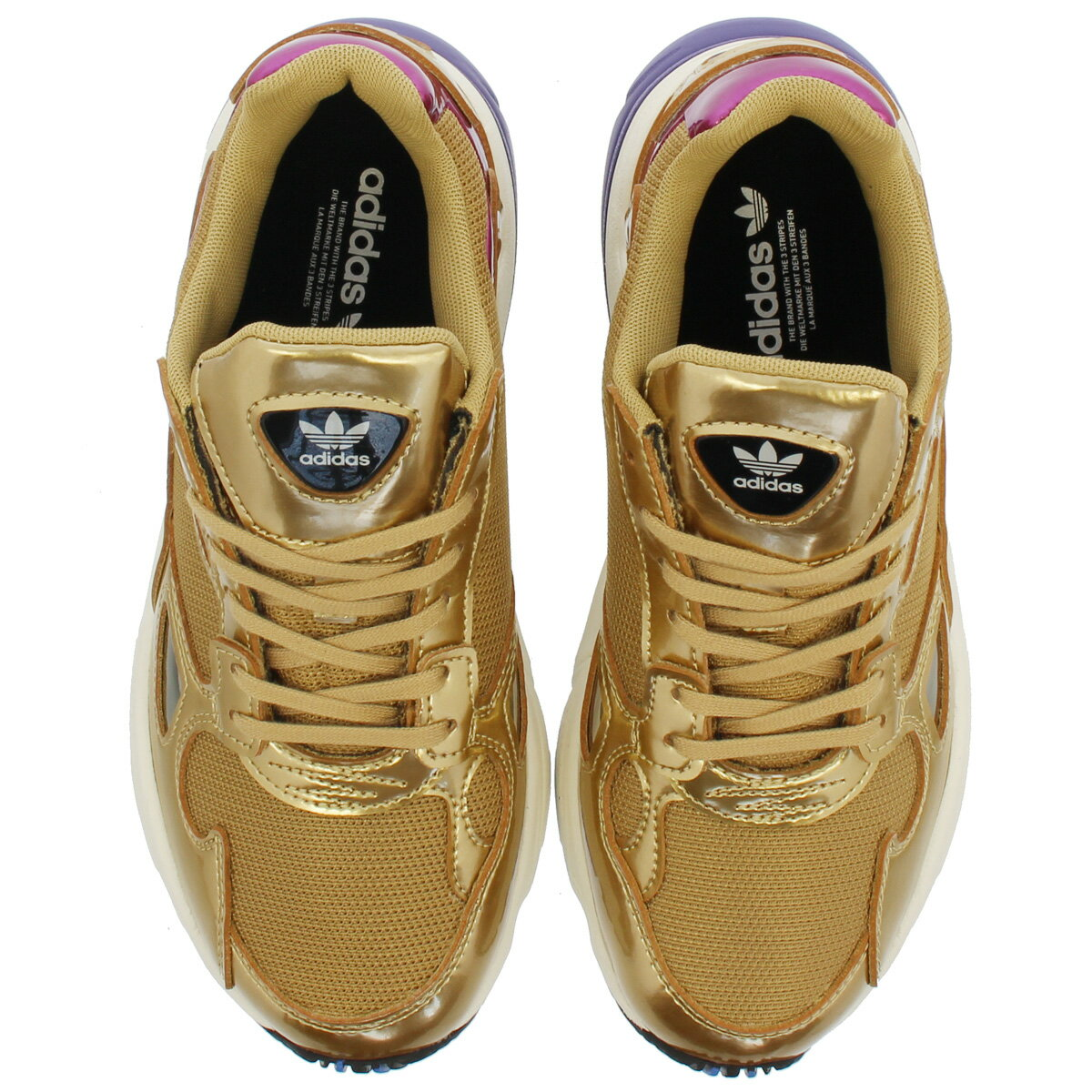 adidas ADIDASFALCON W Adidas Adidas falcon women GOLD METGOLD METOFF WHITE cg6247