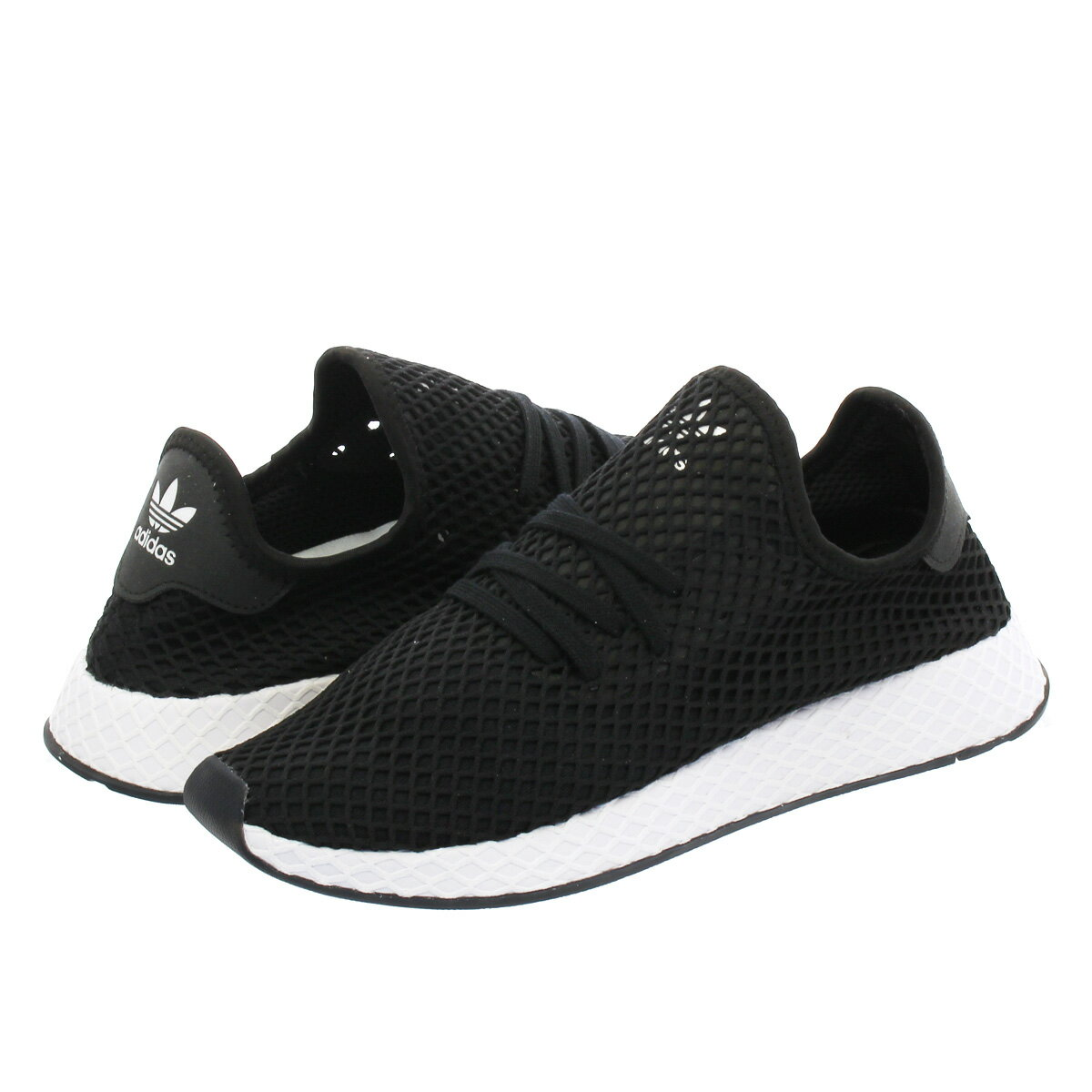 メンズ靴, スニーカー adidas DEERUPT RUNNER KICKS LAB. KICKS LAB. EXCLUSIVE CORE BLACKCORE BLACKRUNNING WHITE