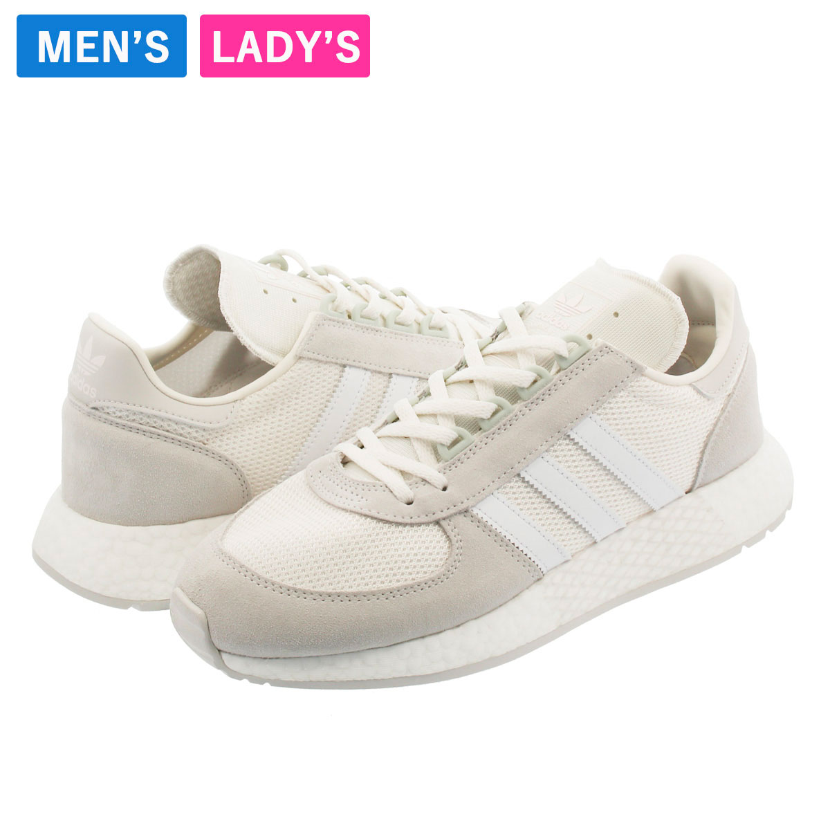 メンズ靴, スニーカー  adidas MARATHON x 5923 Never Made x 5923 CLOUD WHITERUNNING WHITEGREY ONE g27860