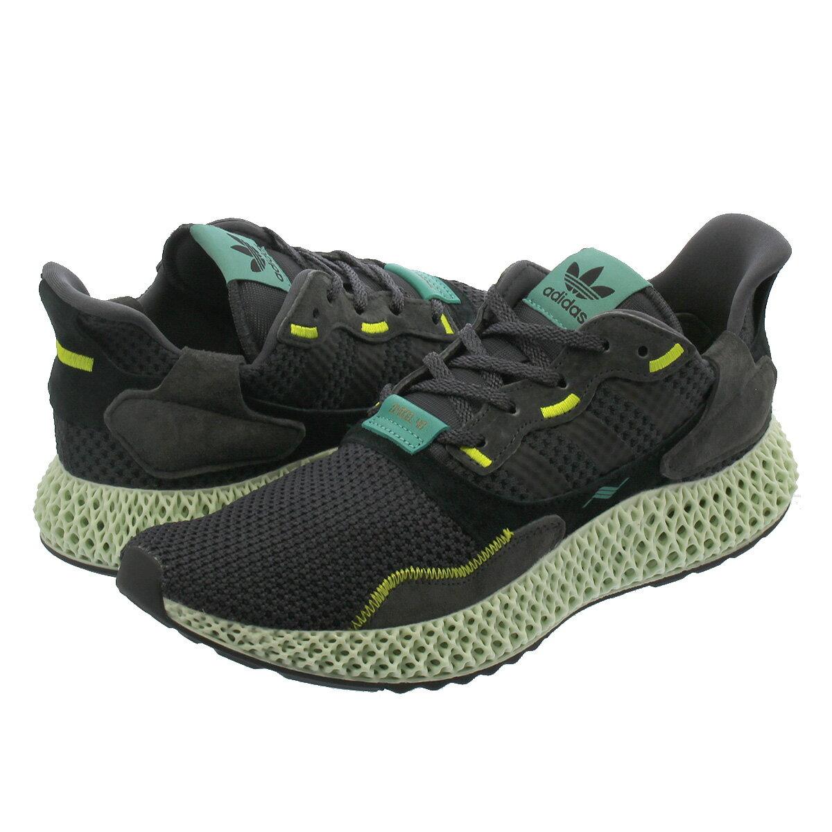 メンズ靴, スニーカー  adidas ZX 4000 4D ZX 4000 4D CARBONCARBONSEMI SOLAR YELLOW