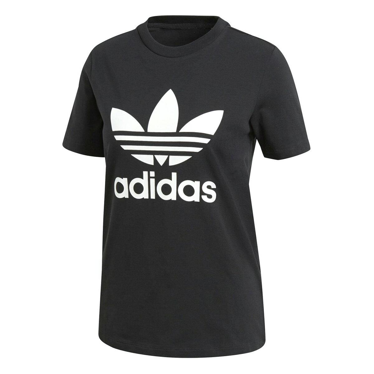 トップス, Tシャツ・カットソー  adidas TREFOIL TEE T BLACKWHITE