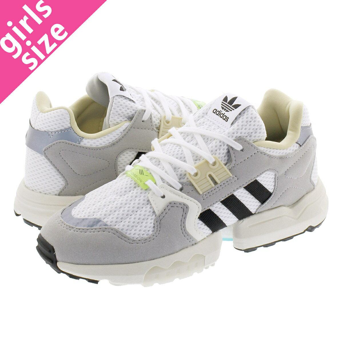 レディース靴, スニーカー adidas ZX TORSION W ZX RUNNING WHITECORE BLACKGREY TWO ee4843