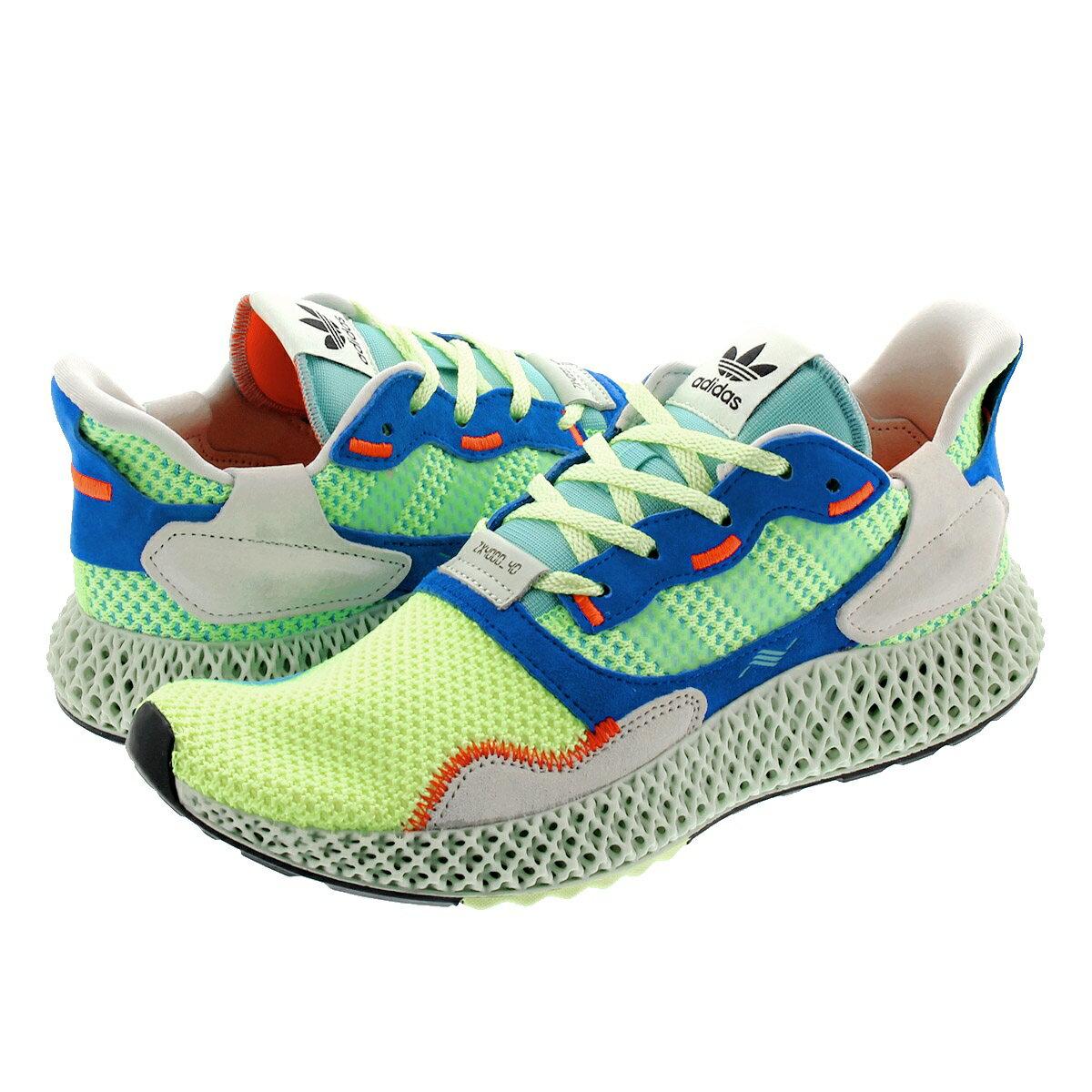 メンズ靴, スニーカー  adidas ZX 4000 4D ZX 4000 4D HI RES YELLOWLINEN GREENEASY MINT ef9623