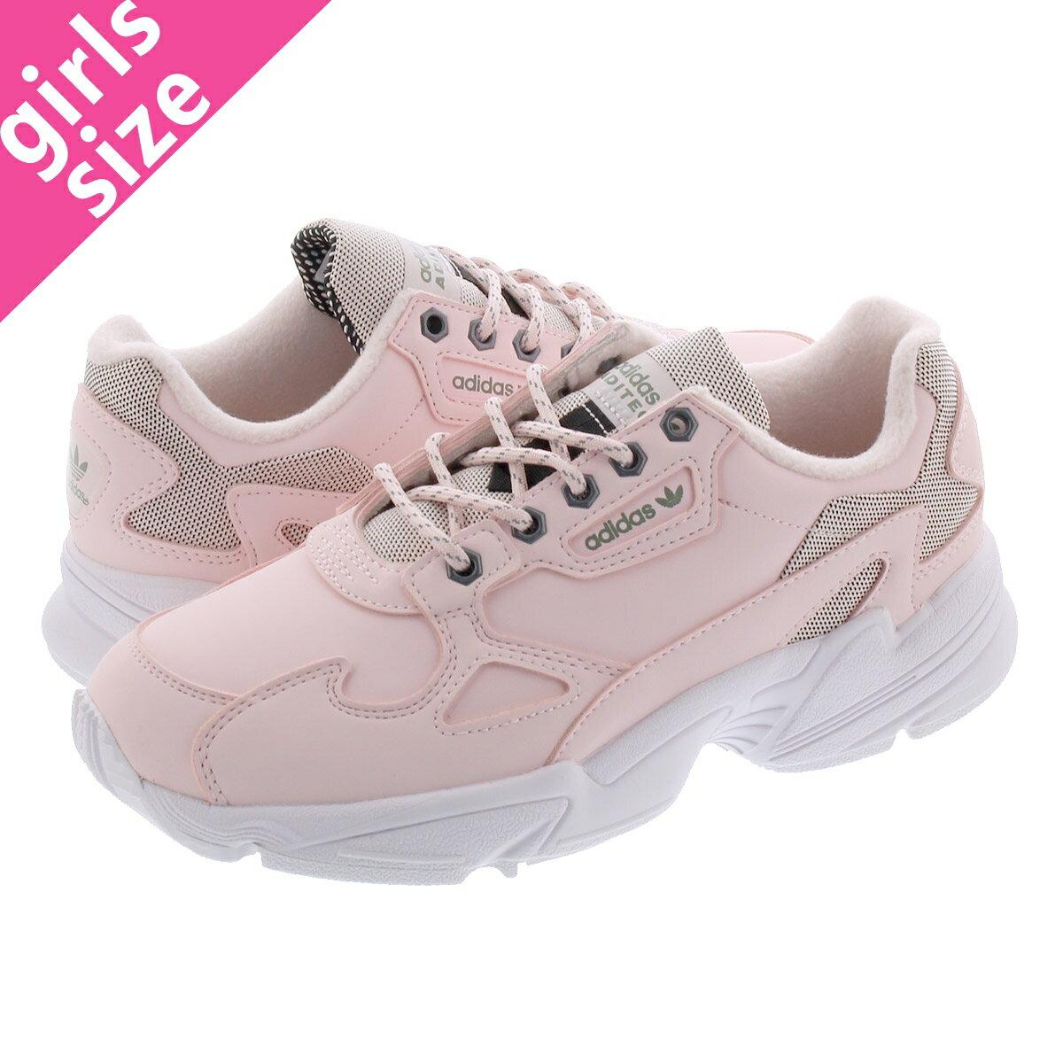 レディース靴, スニーカー  adidas ADIDASFALCON W HALO PINKHALO PINKTRACE GREEN fv4660