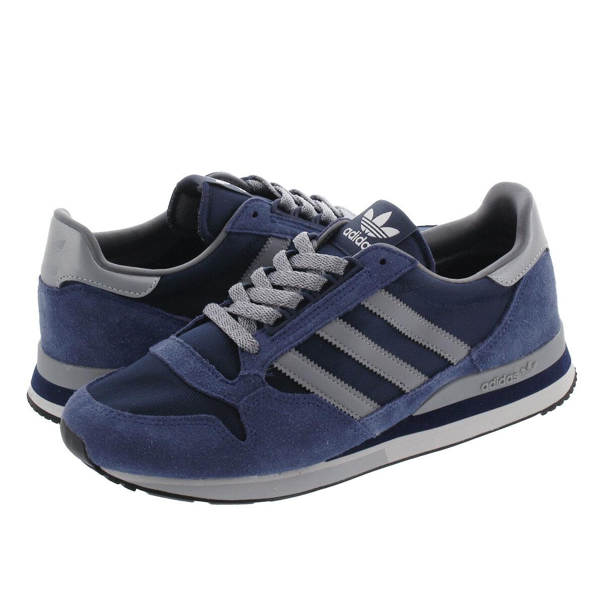 メンズ靴, スニーカー adidas ZX 500 500 COLLEGE NAVYGREYTECH INDIGO fw2812