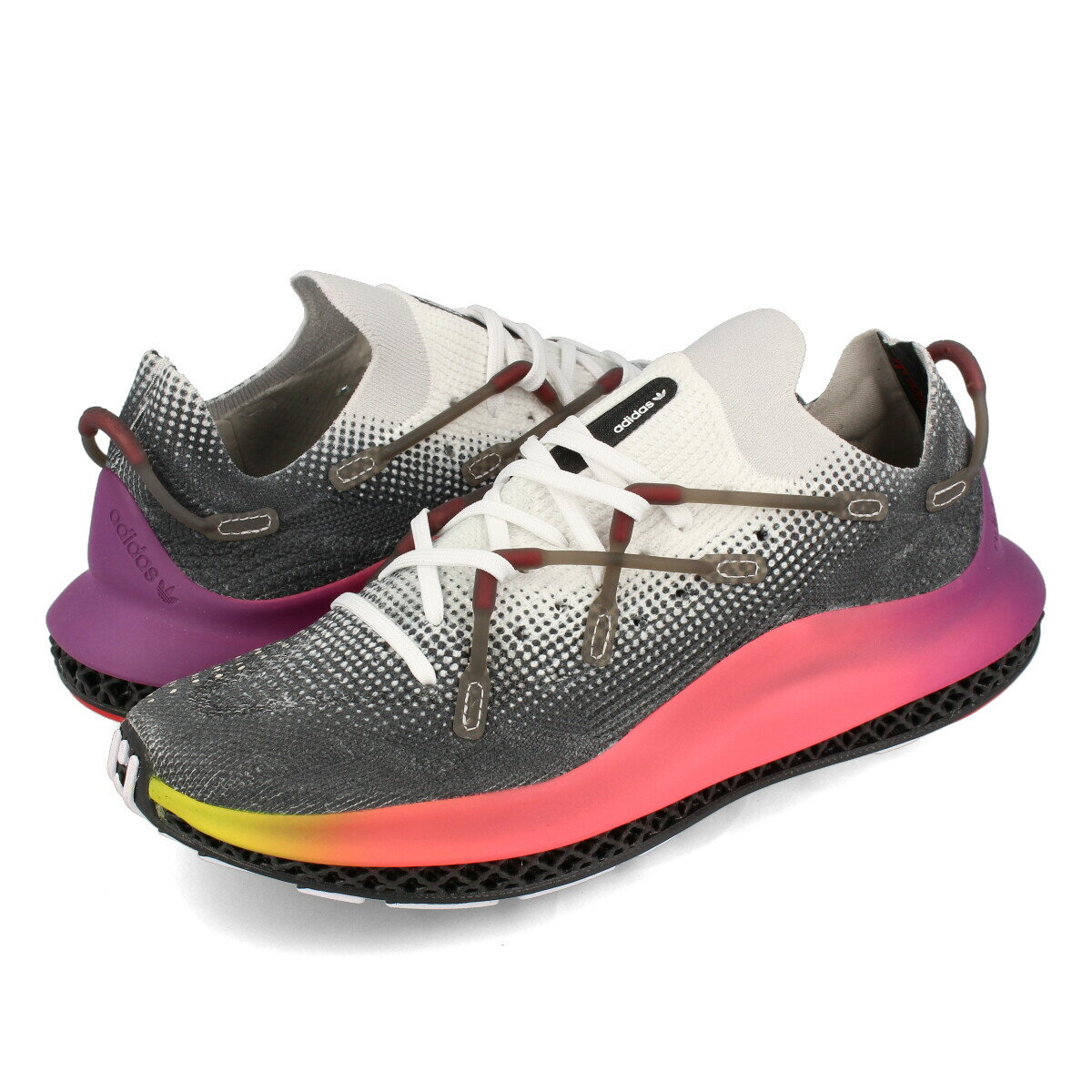 メンズ靴, スニーカー adidas 4D FUSIO 4D FTWR WHITEULTRA PURPLECORE BLACK fy3609