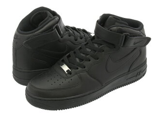 NIKE AIR FORCE 1 MID 07 BLACK
