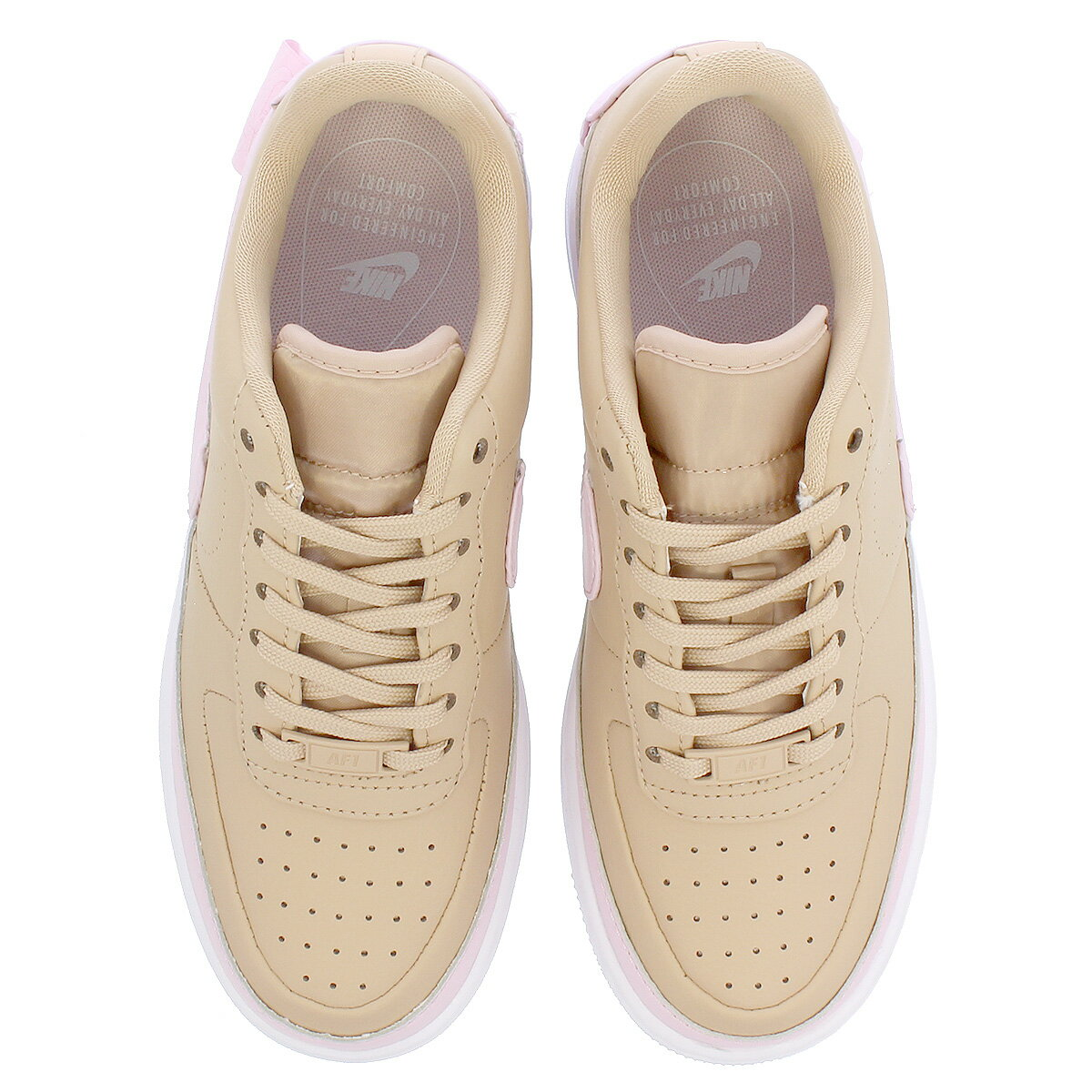 NIKE WMNS AIR FORCE 1 JESTER XX Nike women air force 1 Jester XX BIO BEIGEPINK FORCEWHITE ao1220 202