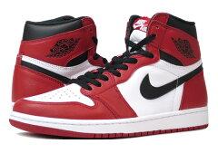 【送料無料】NIKE AIR JORDAN 1 RETRO HIGH OG 【CHICAGO】 ナイキ エア ジョーダン 1 レトロ ハイ OG WHITE/BLACK/VARSITY RED