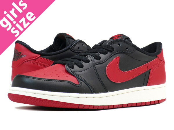 レディース靴, スニーカー  NIKE AIR JORDAN 1 RETRO LOW OG BG 1 OG BG BLACKRED 709999-001