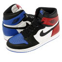 NIKE AIR JORDAN 1 RETRO HIGH OG 【TOP3】 ナイキ エア ジョーダン 1 レトロ ハイ OG BLACK/VARSITY RED/VARSITY ROYAL 555088-026