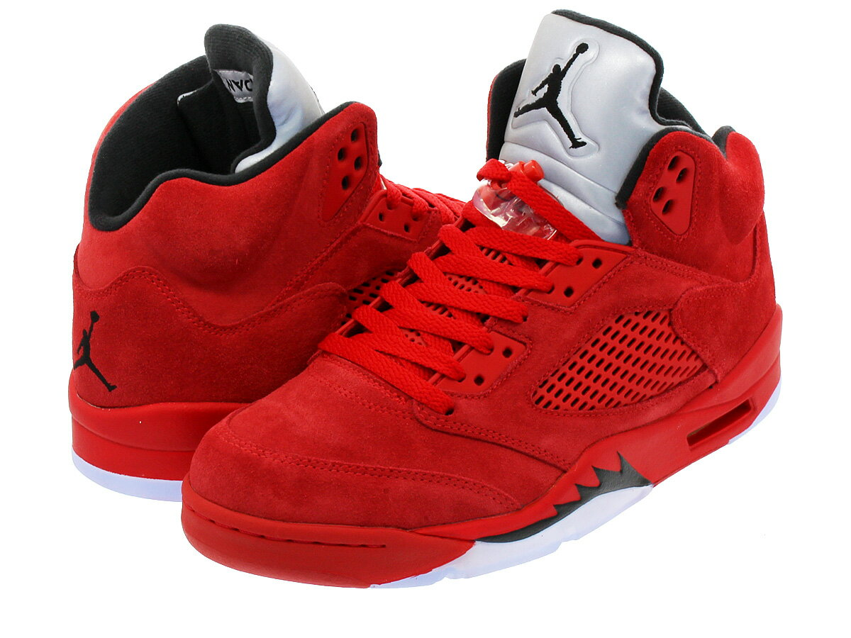 NIKE AIR JORDAN 5 RETRO 【RED SUEDE】 ナイキ エア ジョーダン 5 レトロ UNIVERSITY RED/BLACK/UNIVERSITY RED:SELECT SHOP LOWTEX