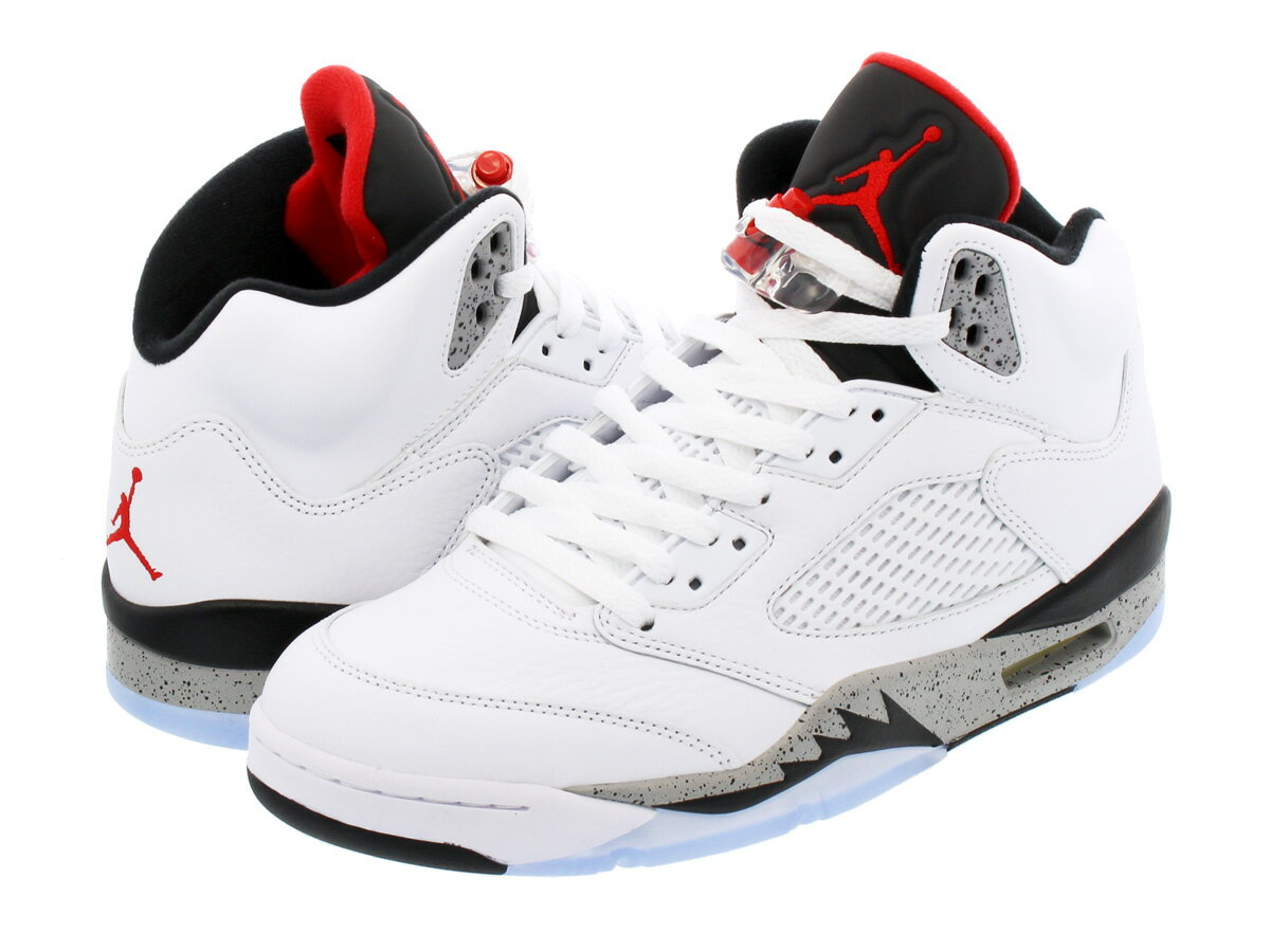 NIKE AIR JORDAN 5 RETRO 【WHITE CEMENT】 ナイキ エア ジョーダン 5 レトロ WHITE/