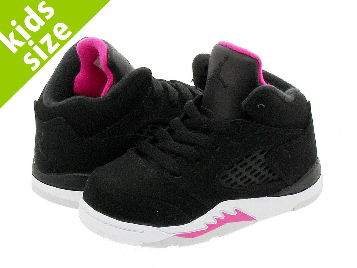 靴, スニーカー  8.016.0cm NIKE AIR JORDAN 5 RETRO GT DEADLY PINK 5 GT BLACKDEADLY PINKWHITE 725172-029