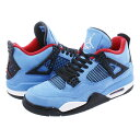 NIKE AIR JORDAN 4 RETRO 【TRAVI...