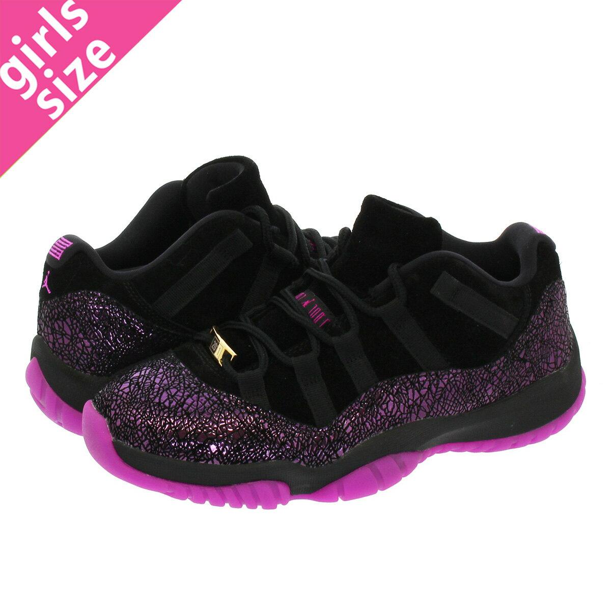 レディース靴, スニーカー  NIKE WMNS AIR JORDAN 11 RETRO LOW ROOK TO QUEEN 11 BLACKFUCHSIA BLASTar5149-005