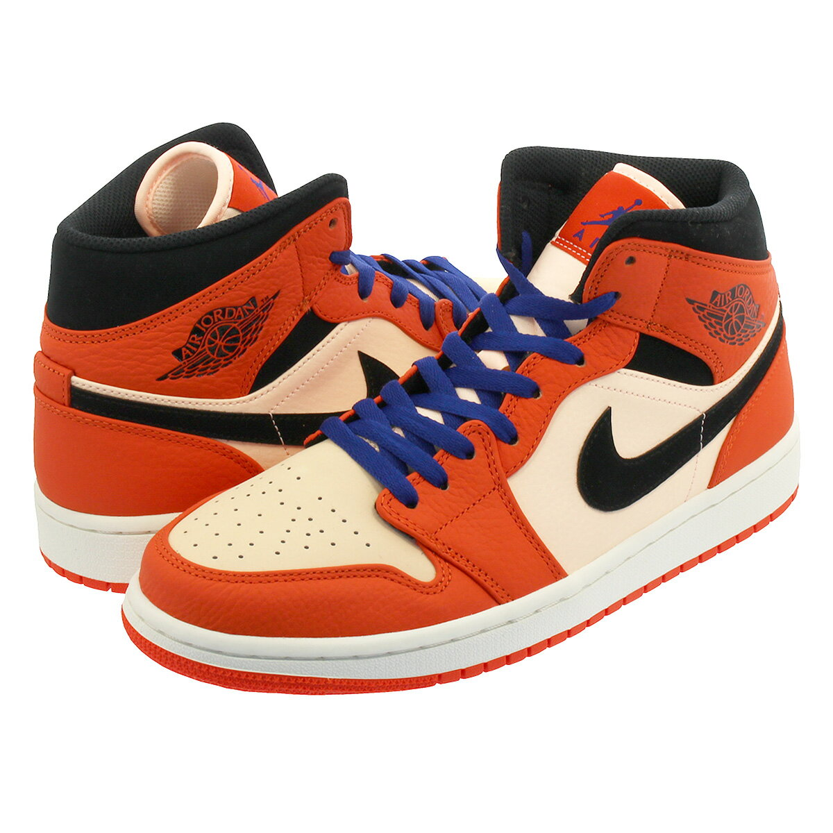 air jordan 1 mid orange