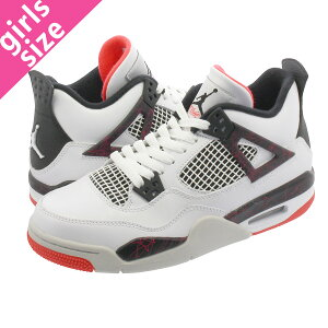 3bc0180f7bb NIKE AIR JORDAN 4 RETRO BG 【FLIGHT NOSTALGIA】 ナイキ エアージョーダン4 レトロ BG  WHITE/BLACK/BRIGHT CRIM... 商品について1989年に誕生した【Michael Jordan ...
