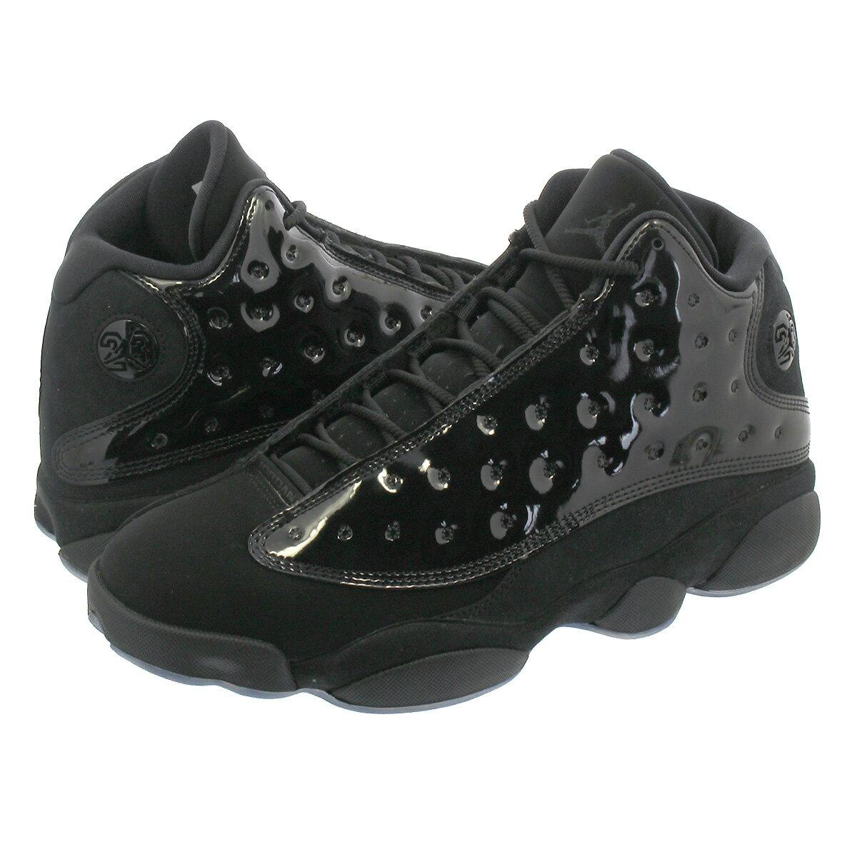 メンズ靴, スニーカー  NIKE AIR JORDAN 13 RETRO CAP AND GOWN 13 BLACKBLACK 414571-012