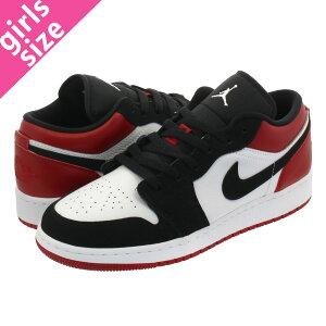 sports shoes 63406 cd58d NIKE AIR JORDAN 1 LOW GS ナイキ エア ジョーダン 1 ロー GS WHITE BLACK GYM RED  553560-116 商品について1985年、マイケル・ジョーダンとともに NBAデビューした彼 ...