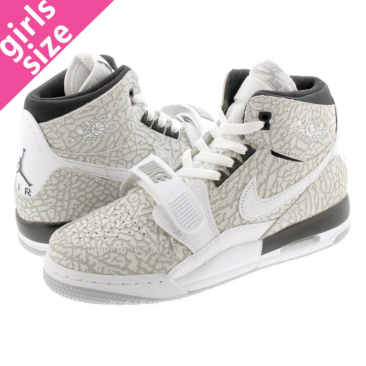 メンズ靴, スニーカー NIKE AIR JORDAN LEGACY 312 GS 312 GS WHITEBLACK at4040-100