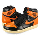 NIKE AIR JORDAN 1 RETRO HIGH OG 【SHATTERED BACKBOARD 3.0】 ナイキ エア ジョーダン 1 レトロ ハイ OG BLACK/PALE VANILLA/STARFISH 555088-028