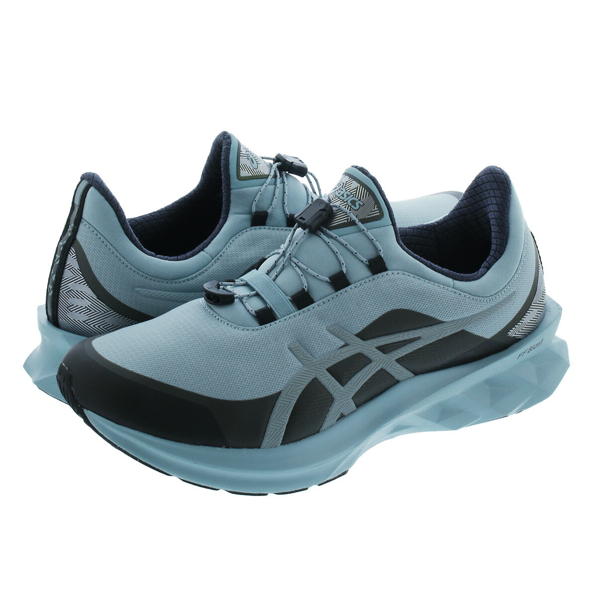 メンズ靴, スニーカー ASICS SPORTSTYLE NOVABLAST LIGHT STEELLIGHT STEEL 1201a133-400