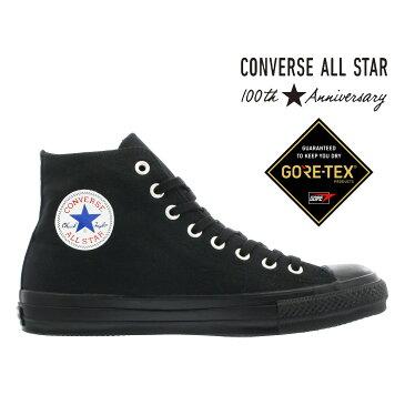 【楽天スーパーSALE】 CONVERSE ALL STAR 100 GORE-TEX MN HI 【100周年】 【100th ANNIVERSARY】 コンバース オールスター 100 ゴア テックス MN HI BLACK 32069971
