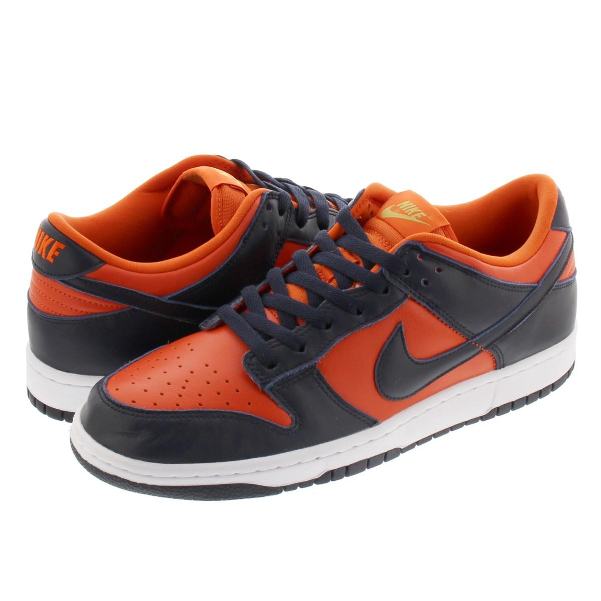 メンズ靴, スニーカー NIKE DUNK LOW SP CHAMP COLORS SP UNIVERSITY ORANGEMARINE cu1727-800