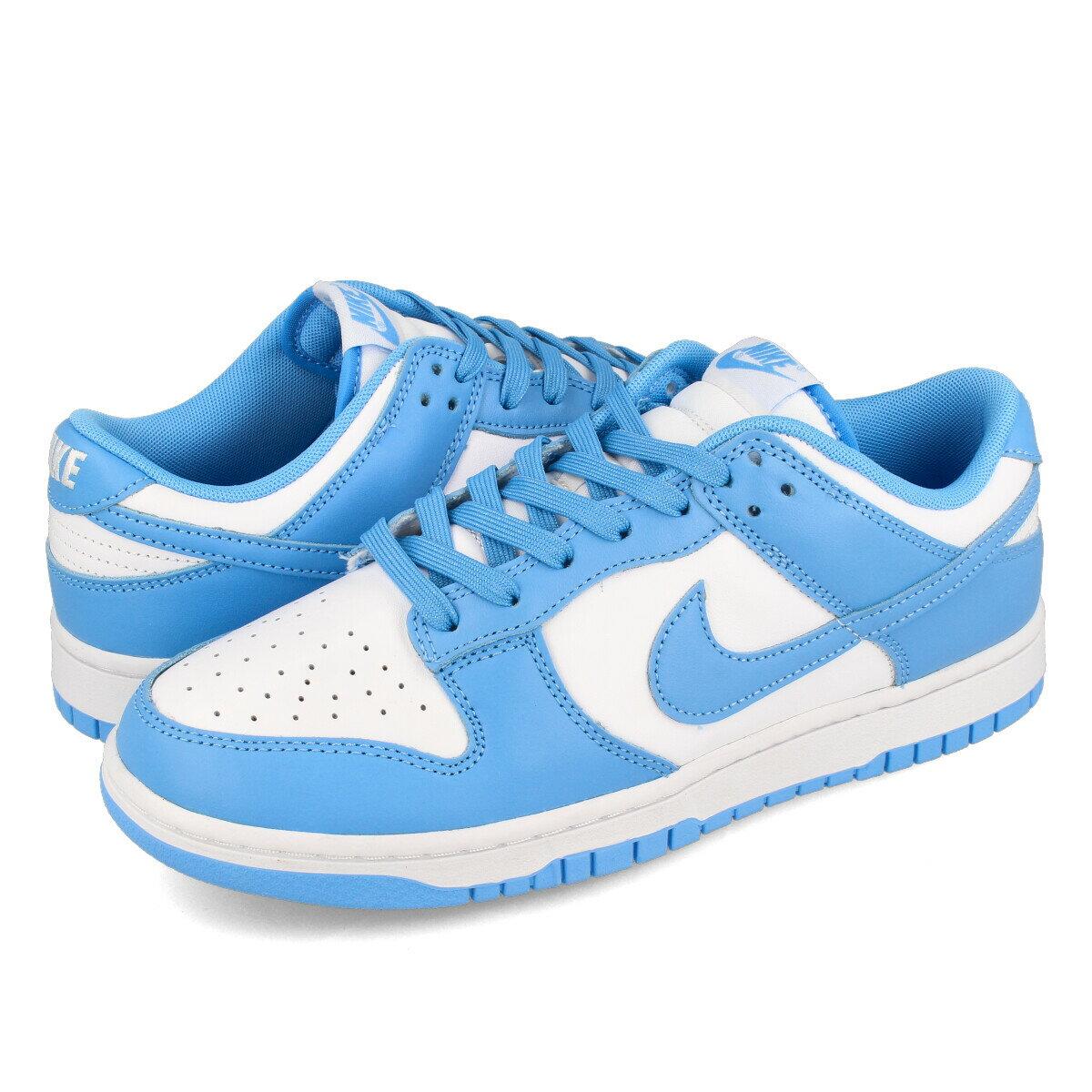 メンズ靴, スニーカー NIKE DUNK LOW RETRO UNC WHITEUNIVERSITY BLUEWHITE dd1391-102