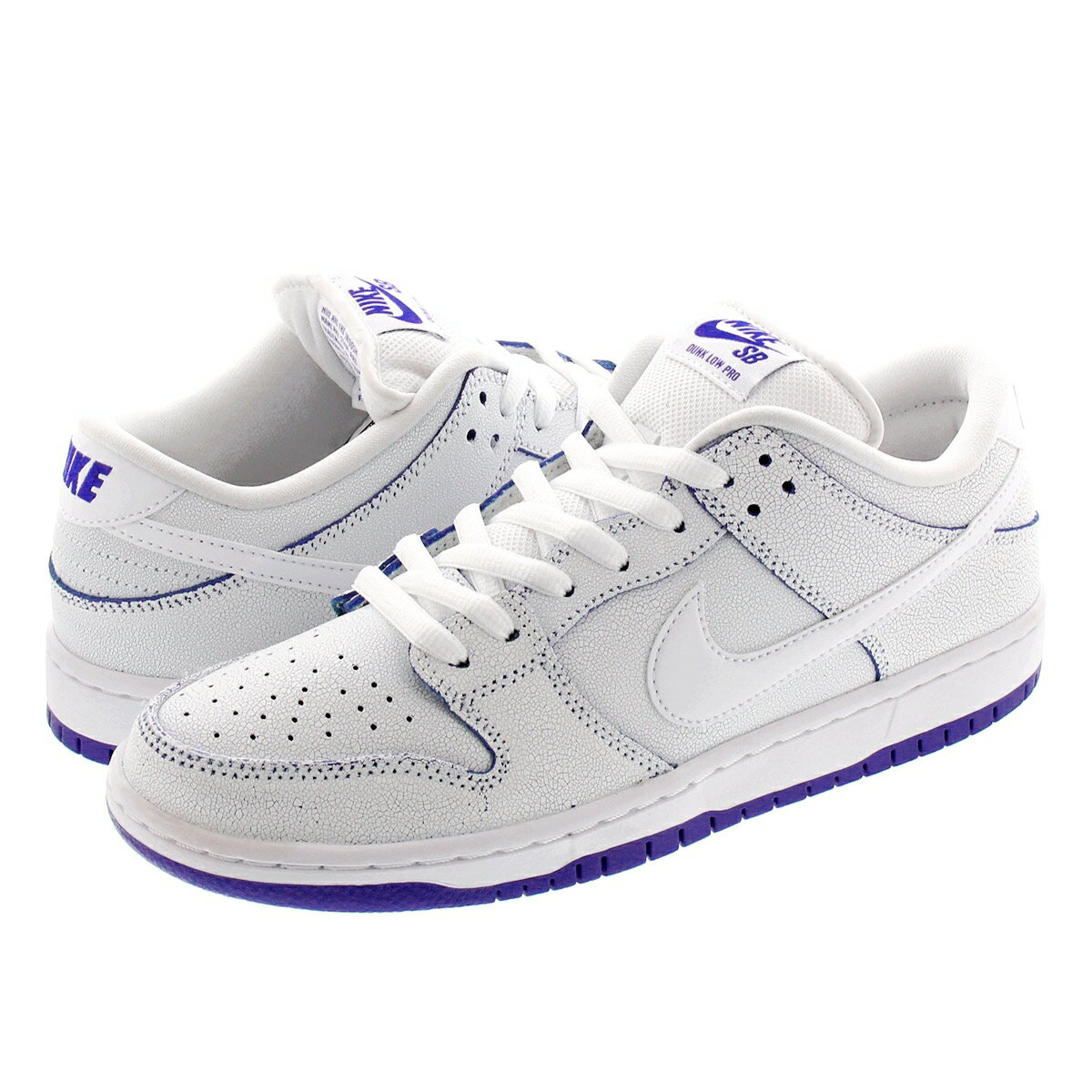 メンズ靴, スニーカー NIKE SB ZOOM DUNK LOW PRO PRM SB WHITEWHITEGAME ROYAL cj6884-100