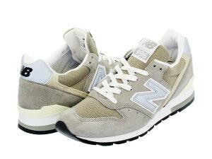 【送料無料】【NEW BALANCE ニューバランス】M996GY 1989年に発売された復刻モデル メンズ靴 ス...