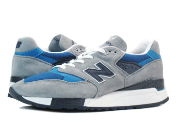 NEW BALANCE M998MD 【MADE IN U.S.A.】 【Dワイズ】 ニューバランス M 998 MD GREY/BLUE/BLACK