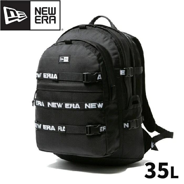 男女兼用バッグ, バックパック・リュック NEW ERA CARRIER PACK LOGO TAPE 35L BLACK 12541423