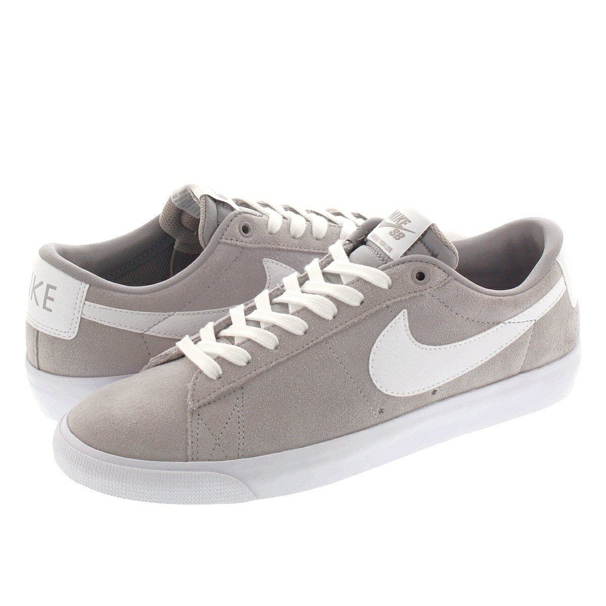 nike sb blazer low gray