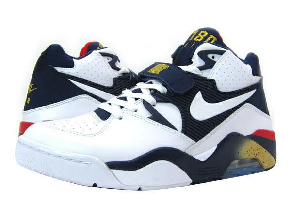 sneakers for cheap 4e9a0 696af NIKE AIR FORCE 180  OLYMPIC  ナイキ エアー フォース 180 WHITE NAVY METALLIC GOLD
