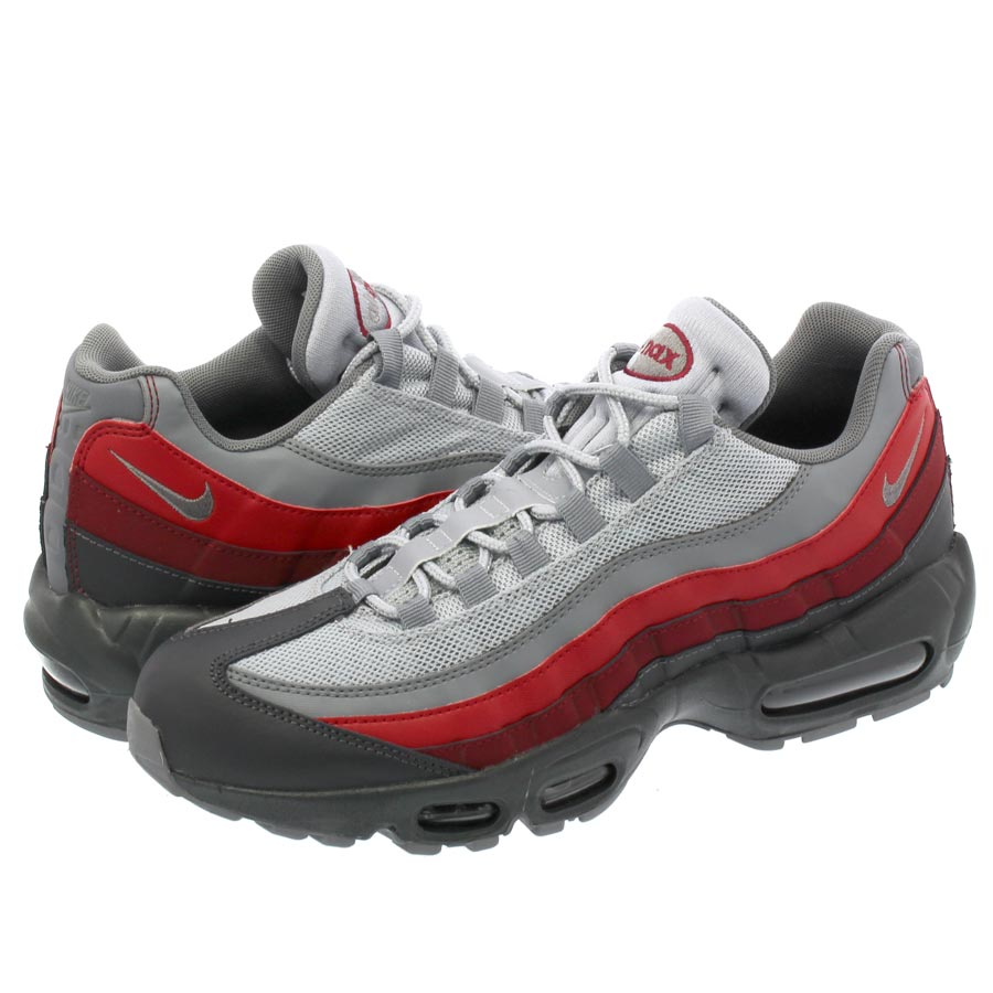 NIKE AIR MAX 95 ESSENTIAL ナイキ エア マックス 95 エッセンシャル ANTHRACITE/GREY/RED