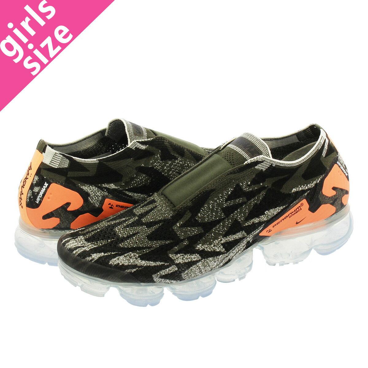 レディース靴, スニーカー  NIKE ACRONYM AIR VAPORMAX MOC 2 2 SAILCARGO KHAKIDARK STUCCO aq0996-102-l
