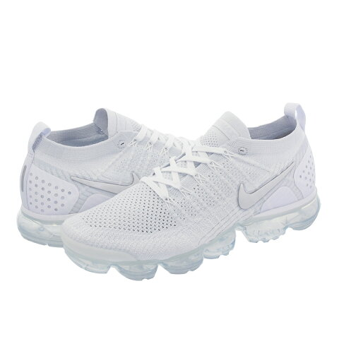 31d4030ee20e NIKE AIR VAPORMAX FLYKNIT 2 ナイキ ヴェイパー マックス フライニット 2 WHITE VAST  GREY FOOTBALL GREY 942842-105