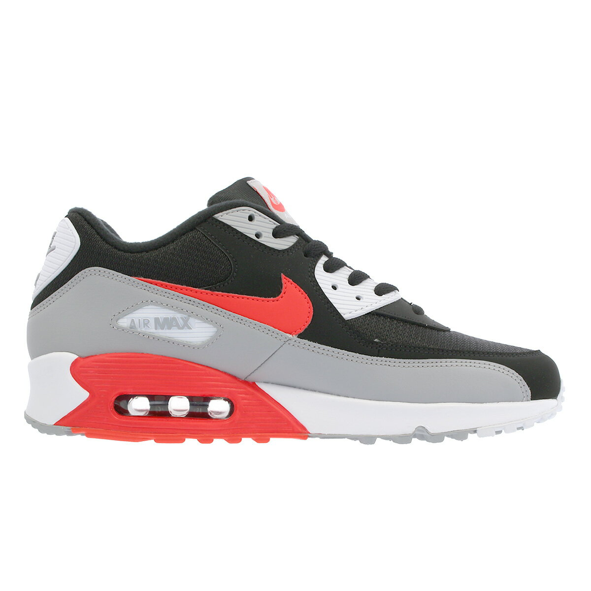 NIKE AIR MAX 90 ESSENTIAL Kie Ney AMAX 90 essential BLACKWOLF GREYBRIGHT CRIMSON aj1285 012