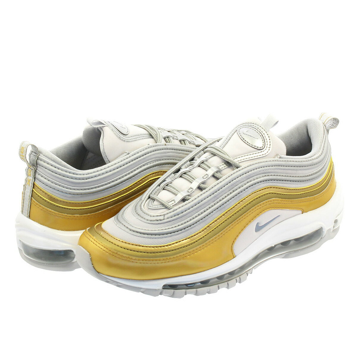 aggiungere a includere Transizione  Athletic Shoes Clothing, Shoes & Accessories NIKE WMNS AIR MAX 97 SE AQ4137- 001 VAST GREY METALLIC SILVER METALLIC GOLD myself.co.ls